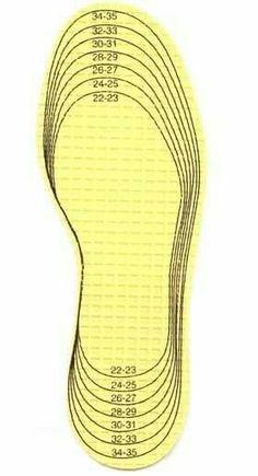 Molde de chinelos