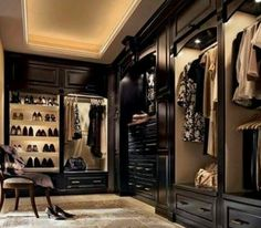 Inspiration for master bedroom closet