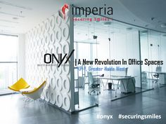 Your work space should be as #unique‬ as you are! That's all what #onyx‬ offers you the Undivided/Virtual Office Spaces Located in the largest office hub in ‪#‎NCR‬ - The Knowledge Park V, Greater Noida West.