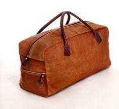 fur travel bags - fell reisetaschen - bolsas de viaje de piel y cuero