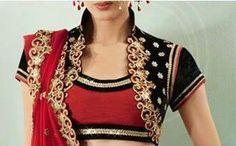Designer blouse Design 24, Saree Blouse Designs, Unique, Stitching, Diy Projects, Blouses, Tops, Women, Fashion