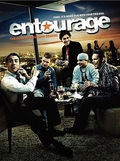 Entourage - i love these guys. Best HBO series ever and that's saying something.