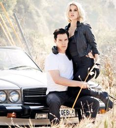 BC and Alice Eve as part of a photo shoot for GQ Style magazine Spring/Summer issue.