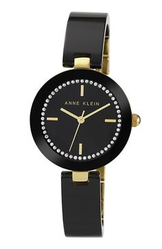 Anne Klein Ceramic Half Bangle Watch, 31mm available at #Nordstrom