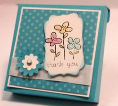 SUO Challenge #41 - Easy Events Card Box by angiover7 - Cards and Paper Crafts at Splitcoaststampers