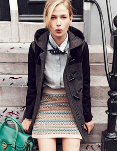 """""""Hello, Amsterdam"""": Robin in Amsterdam for the Madewell Fall 2012 Style Guide"""
