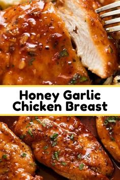 An incredible quick and easy way to serve up chicken breast – seared then simmered in the most amazing honey garlic sauce. An incredible quick and easy way to serve up chicken breast – seared then simmered in the most amazing honey garlic sauce. Garlic Chicken Recipes, Quick Easy Chicken Recipes, Easy Honey Garlic Chicken, Honey Glazed Chicken, Chicken Recipes With Honey, Easy Chicken Sauce, Homemade Chicken Marinade, Baked Chicken Breastrecipes, Cuisine