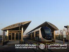 Expo 2020 Dubai, UAE: The Dubai Tram...