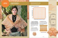 Chalecos tejidos a telar cuadrado - Imagui