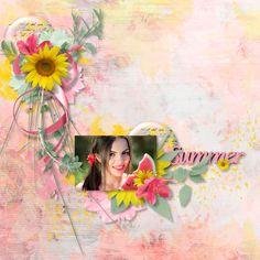 Summer Travel, Mona Lisa, Scrap, Kit, Artwork, Painting, Collection, Design, Work Of Art