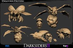 The Character Art of Darksiders II (new images pg 5, 6, 7)