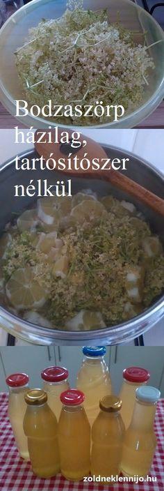 Egyszerű bodzaszörp recept bodzavirágból. Az eredmény pedig mennyei! Grains, Rice, Seeds, Korn