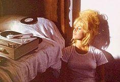 Brigitte Bardot + records + sunshine
