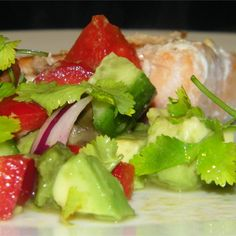 """Cool Cucumber and Avocado Salad I """"This was really, really good! Very simple and refreshing on a hot day."""""""