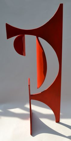 '263 Sonnet' metal sculpture by Nick Moran