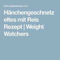 Hänchengeschnetzeltes mit Reis Rezept | Weight Watchers