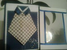 męska koszula...i pierwsze własne pudełko