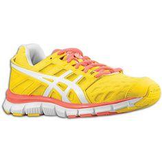 asics blur 33 women's yellow dress shoes