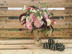 chilson's pride and snowcap dahlias, sweet autumn clematis, velvet curtains amaranth, oregano.... sweet and wild