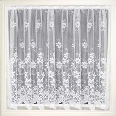Net Curtain 101 (Floral) Pattern & # 101 & # Erhältlich in folgenden . Voile Curtains, Window Curtains, Curtains Direct, Window Rods, Best Insulation, Semi Transparent, Drop, Curtain Designs, Leaf Design