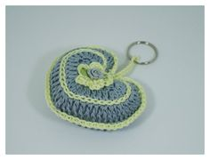Crochet keychain Key accessories bag accessories  by NikitasStore