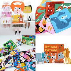 Ingela Arrhenius's Character Parade and Animal Parade puzzles.