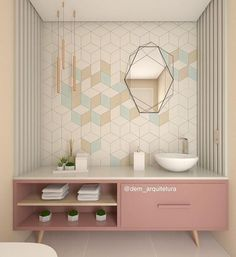 [New] The Best Home Decor (with Pictures) These are the 10 best home decor today. According to home decor experts, the 10 all-time best home decor. 3d Interior Design, Bathroom Interior Design, Interior Decorating, Workspace Inspiration, Bathroom Inspiration, Home Board, Dream House Exterior, Home Design Plans, Interiores Design