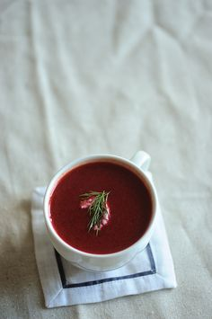 beet and pear soup