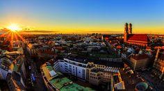 München Sonnenuntergang by Dominik Hartmann on 500px