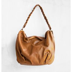 Leather Braid Hobo Bag Shoulder Bag Slouch Bag /Brown leather bag... ($191) ❤ liked on Polyvore featuring bags, handbags, tote bags, leather hobo handbags, woven leather tote, slouchy leather tote, leather shoulder bag and leather hobo shoulder bags