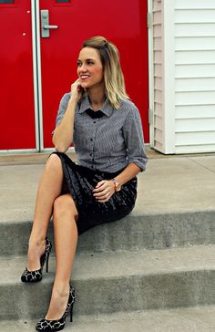 I have this skirt - great idea! from StylePop of Style