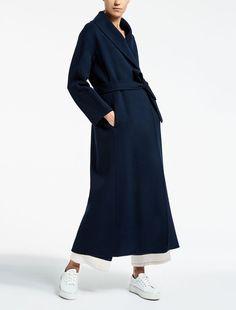 Max Mara LAPPULA midnightblue: Wool coat.