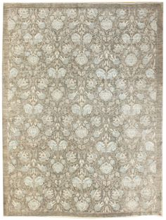 Arts and Crafts Rugs Gallery: Morris Design Rug, Hand-knotted in Afghanistan; size: 8 feet 5 inch(es) x 10 feet 2 inch(es)