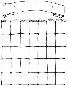 WORKOUT calendar Blank Calendar Pages, Printable Calendar Pages, Excel Calendar, Calendar 2014, Monthly Calendar Template, Printable Calendar Template, Kids Calendar, Printable Planner, Christmas Calendar
