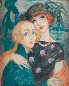 Gerda and Lili by Gerda Wegener (oii.au)
