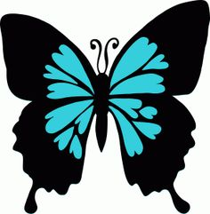 Welcome to the Silhouette Design Store, your source for craft machine cut files, fonts, SVGs, and other digital content for use with the Silhouette CAMEO® and other electronic cutting machines. Butterfly Stencil, Butterfly Clip Art, Butterfly Images, Butterfly Drawing, Butterfly Template, Butterfly Pattern, Butterfly Design, Blue Butterfly, Animal Silhouette