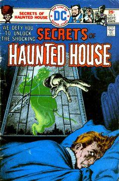 secrets of haunted house comic - Google Search