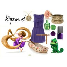 Disney Bounding - Rapunzel