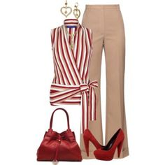 A fashion look from September 2016 featuring Winser London tops, Nina Ricci pants and Dolce Vita pumps. Browse and shop related looks. Stylish Work Outfits, Business Casual Outfits, Classy Outfits, Pretty Outfits, Stylish Outfits, Work Fashion, Fashion Looks, Mein Style, Work Attire