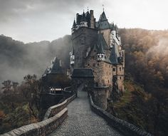 """love-personal: """"""""Everyone knows those places you can visit a thousand times but they still put a smile on your face. For me, this is one of them."""" - Eltz Castle """""""
