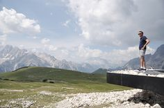 messner architects' monte specie 2305m.a.s.l lookout