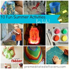 10 Fun Summer Activities to do with your kids
