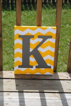 Hey, I found this really awesome Etsy listing at https://www.etsy.com/listing/161110109/personalized-yellow-chevron-with-dark