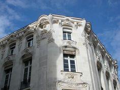 Art Nouveau Building in Angers