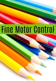 Just what does fine motor control mean for children? How can you spot if your child has fine motor control problems and issues? Sensory Therapy, Sensory Activities Toddlers, Sensory Issues, Sensory Integration, Sensory Processing Disorder, Occupational Therapy, Fine Motor Skills, Pediatrics, Spectrum