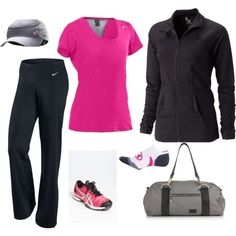 Favorite outfit...makes you want to workout!'