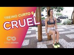 Treino cruel para pernas e abdômen - Para treinar em casa - Carol Borba - YouTube