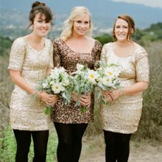 Today, we're here to prove that DIY doesn't have to mean rustic. Today's wedding is as glam and sequined as it is DIY and simple. #weddinggawker