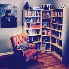 Para alguns, é a parte mais importante da casa. | 24 estantes que vão provocar arrepios em qualquer amante de livros
