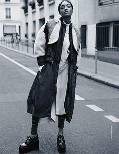 jourdan dunn by david roemer for madame figaro!   visual optimism; fashion editorials, shows, campaigns & more!